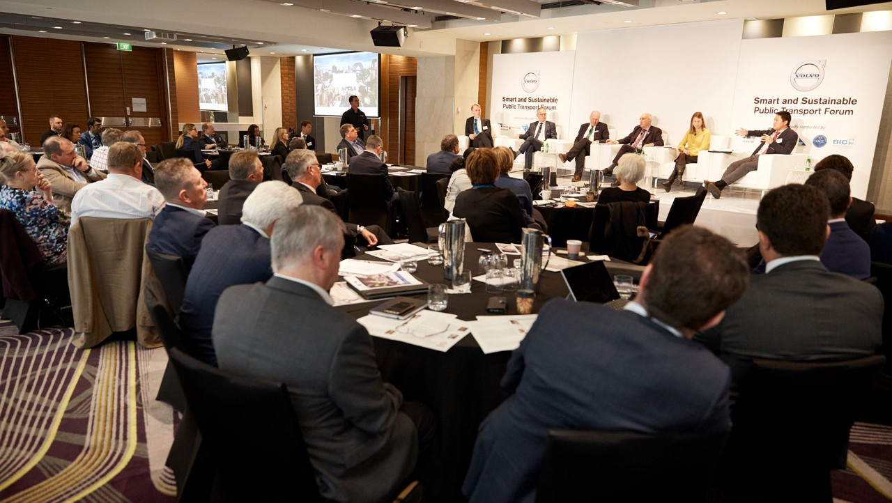 'Smart and sustainable transport' forum
