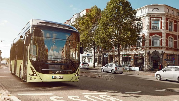 Electric bus wins Volvo Technology Award