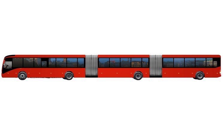 Volvo Launches The World S Largest Bus Volvo Buses