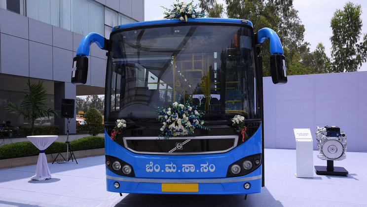 Volvo to deliver 100 city buses to Bangalore, India