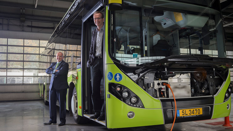 Sales-Lentz makes electric change together with Volvo Buses