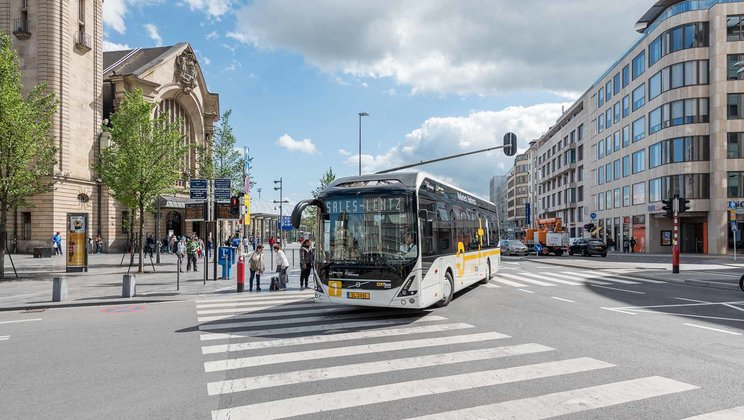 Operational start for Volvo's electric buses in Luxembourg
