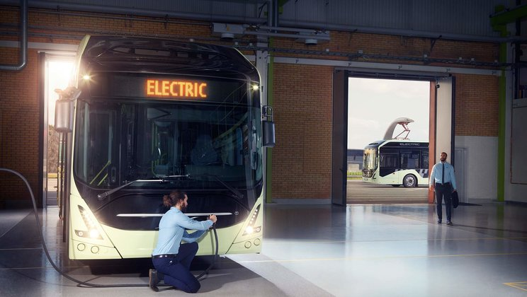 Volvo 7900 Electric buses