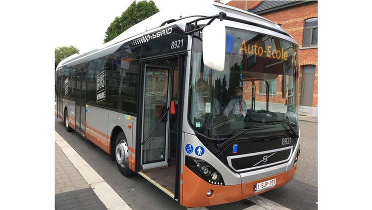 Volvo electrified bus