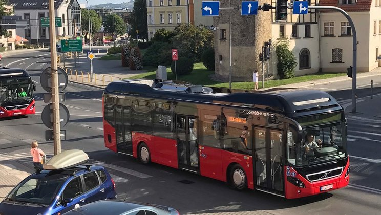Volvo 7900 Electric Hybrid buses