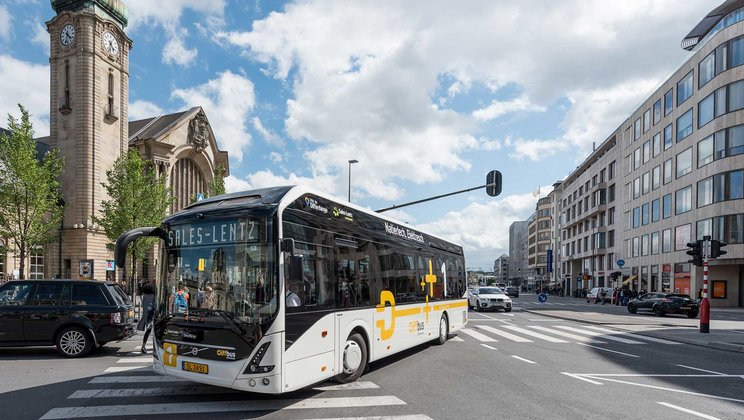 Volvo receives order of six fully electric buses for Drammen, Norway