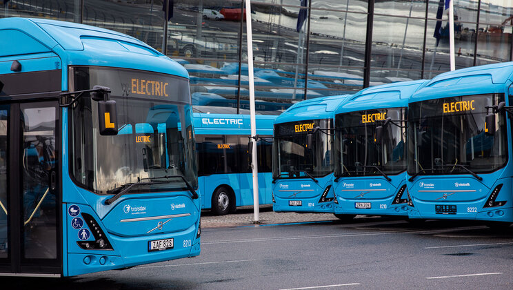 Volvo 7900 Electric Articulated Buses
