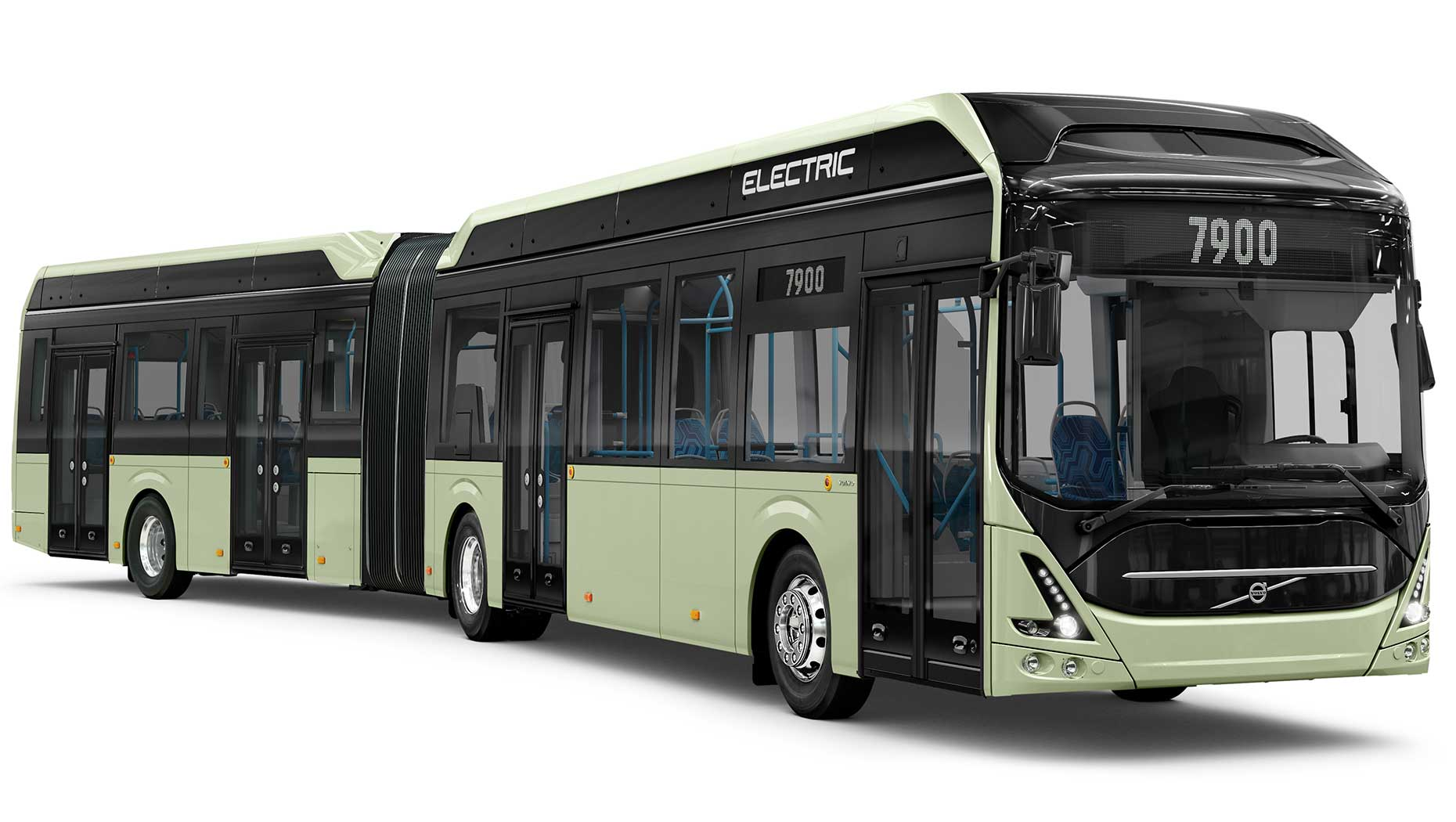 Volvo presents new electric articulated bus for quiet, safer