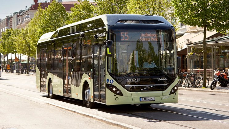 Volvo sells electric bus system to Luxembourg