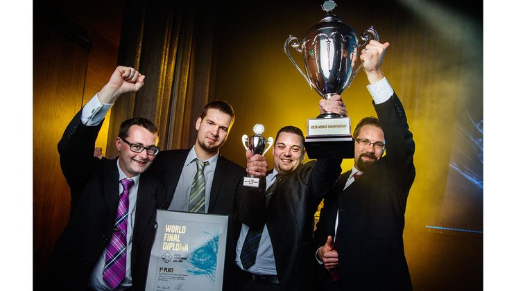 Team Harju from Finland win the world's biggest competition for workshop personnel