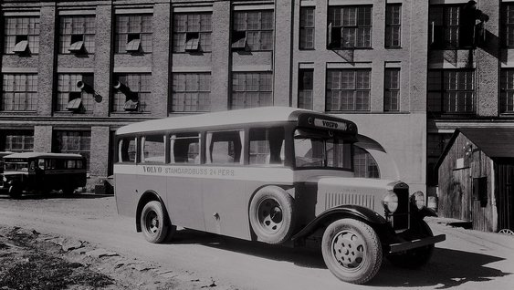 Volvo Buses History