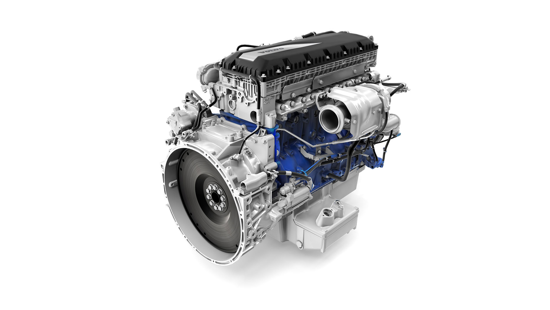 Volvo B8R Engine
