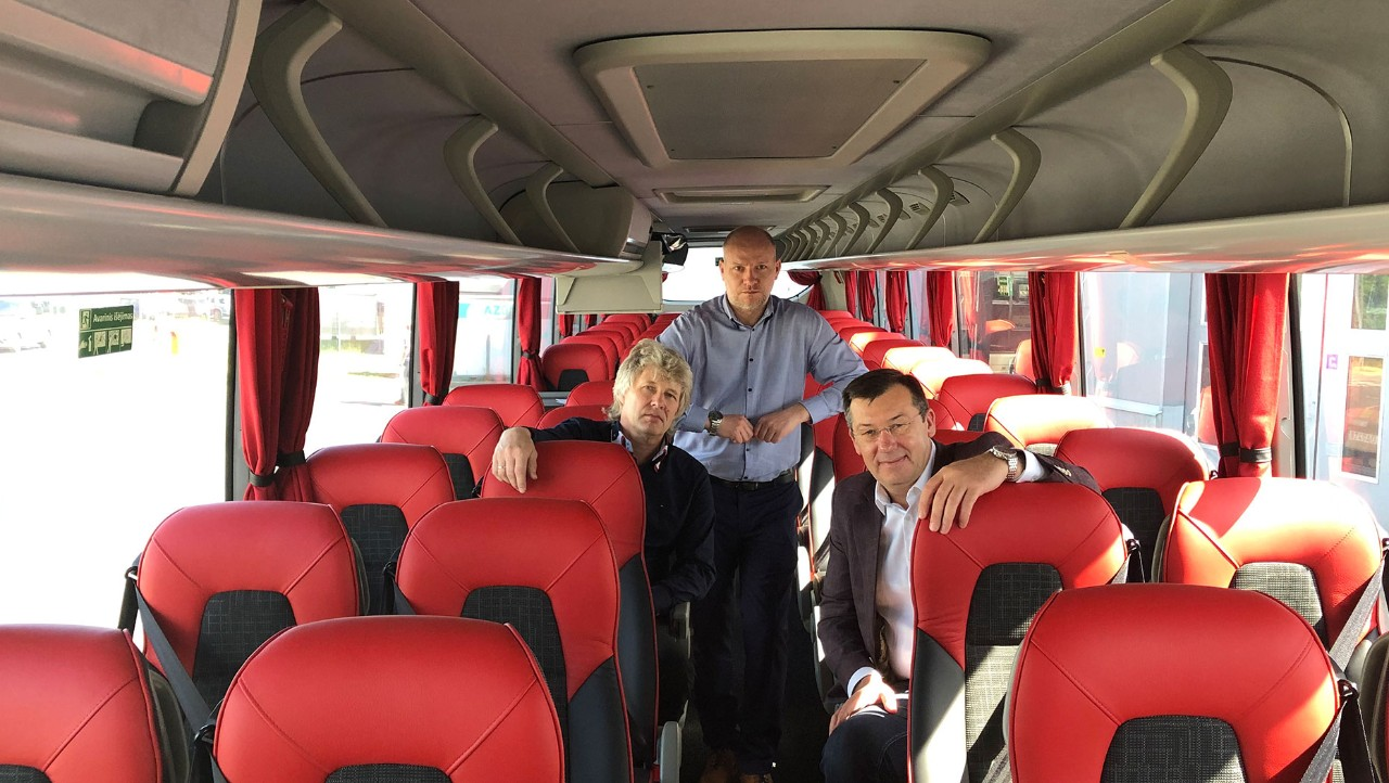 ENABLING THE JOURNEY WITH VOLVO LUXURY COACHES