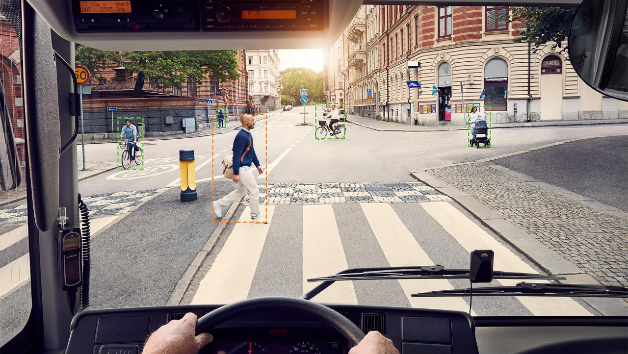 The Pedestrian and Cyclist Detection System