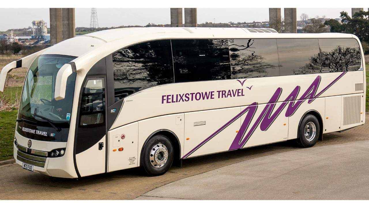 Felixstowe Travel takes delivery of B11R SC7 as part of fleet expansion.