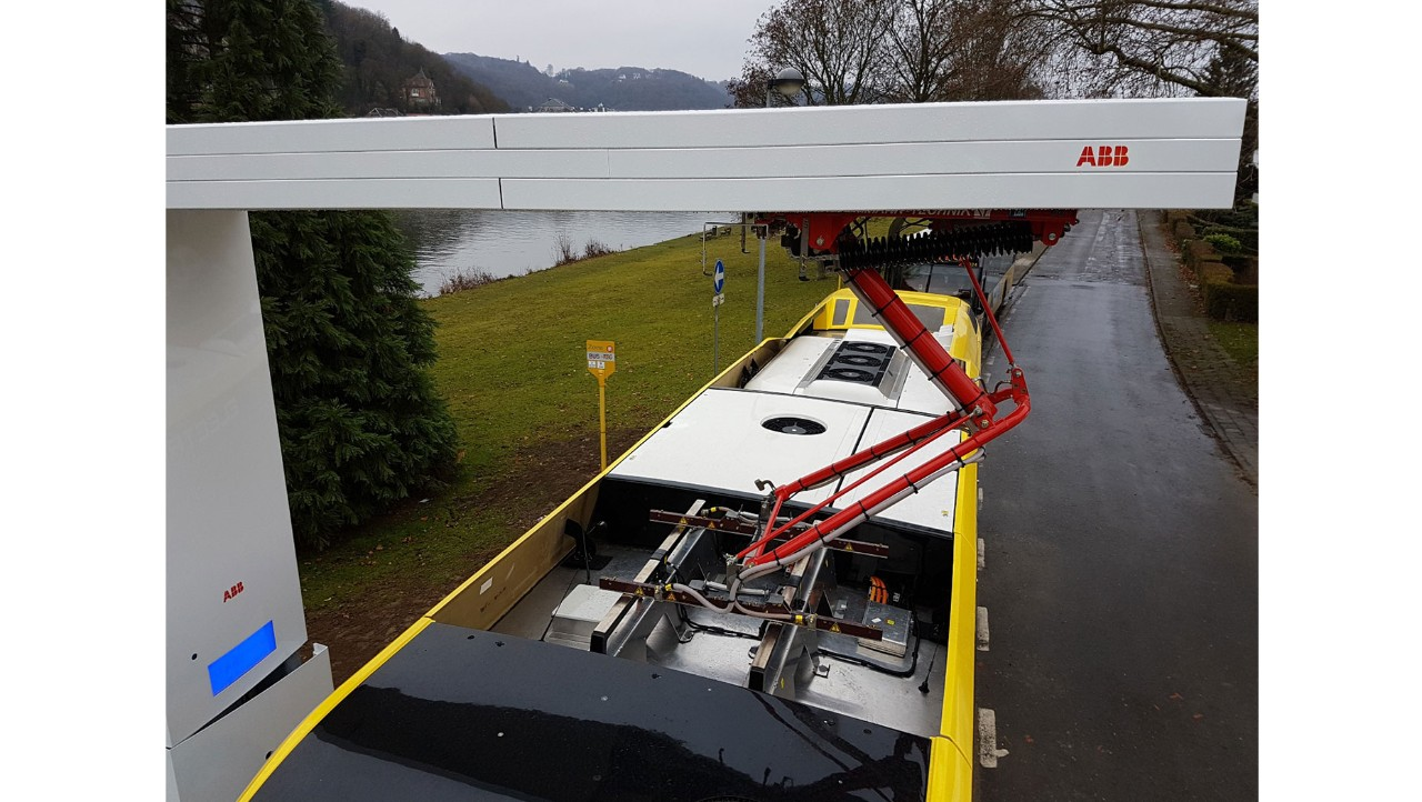 OppCharge charging infrastructure