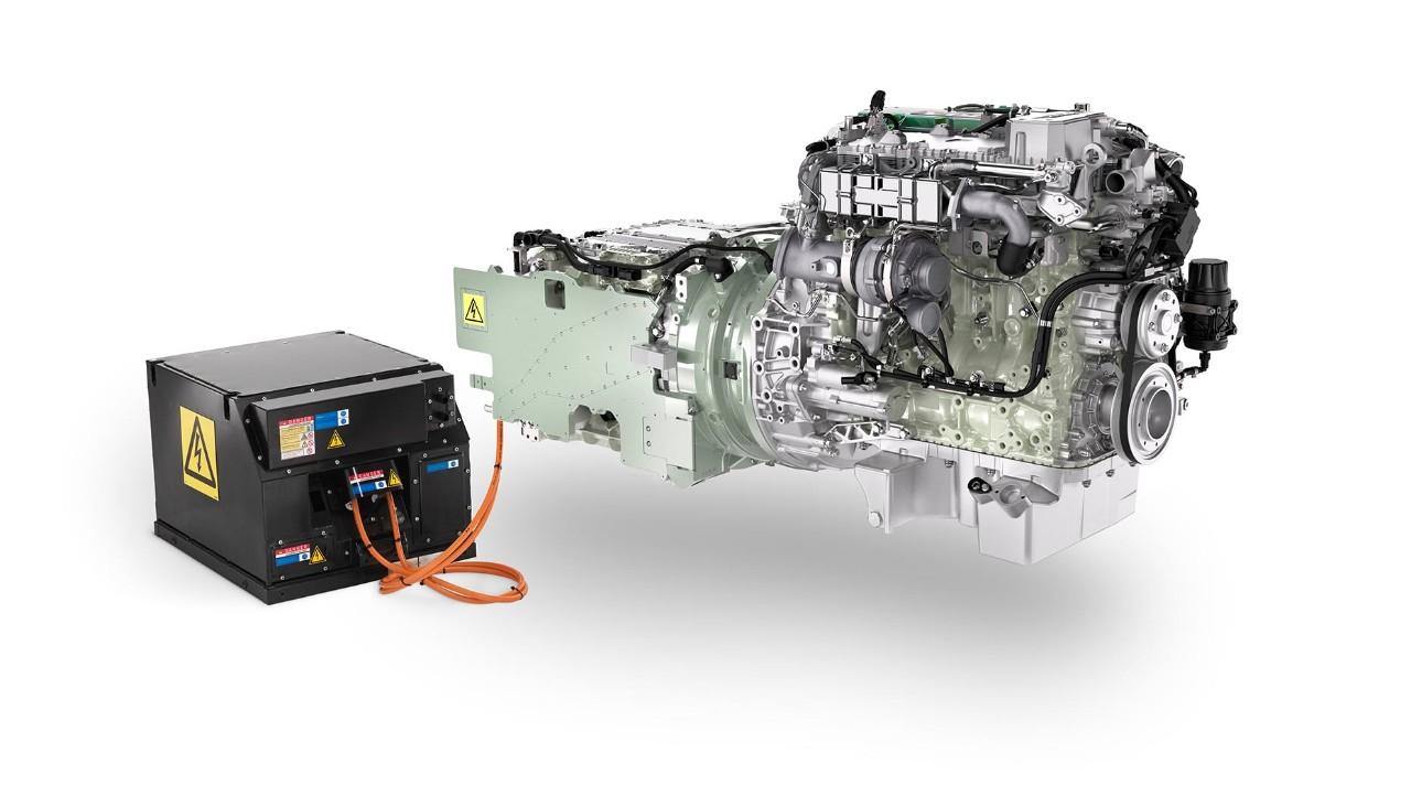 Volvo Hybrid System